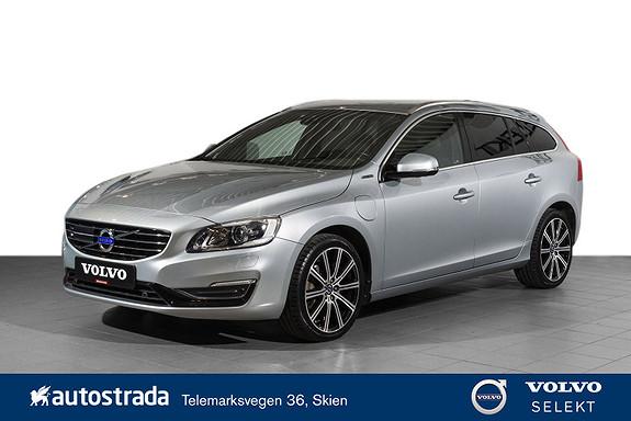 Volvo V60 D5 AWD Summum Plug in Hybrid AdaptiveCruise/H.feste/VOC  2015, 66607 km, kr 319000,-