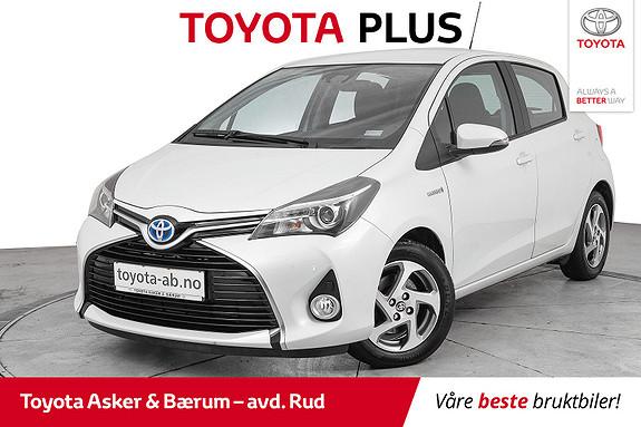 Toyota Yaris 1,5 Hybrid Active S e-CVT  2016, 17200 km, kr 169000,-