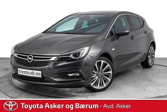 Opel Astra 1,4 Turbo 150hk Premium aut TOPPMODELL  2016, 37900 km, kr 214000,-