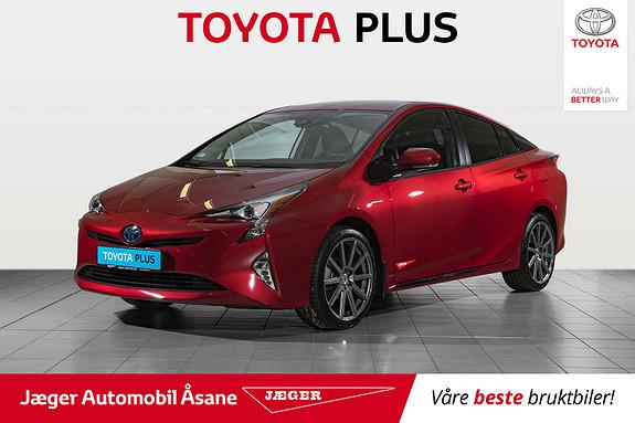 Toyota Prius 1,8 VVT-i Hybrid Active Style  2018, 2500 km, kr 299000,-