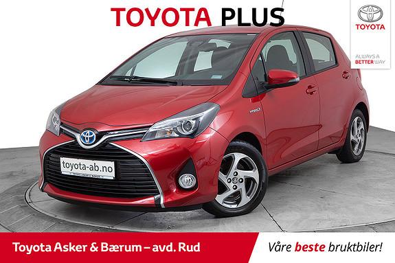 Toyota Yaris 1,5 Hybrid Active S e-CVT  2016, 26700 km, kr 175000,-