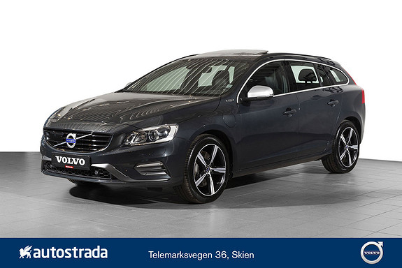 Volvo V60 D5 R-Design Twin Engine  2018, 39076 km, kr 419000,-