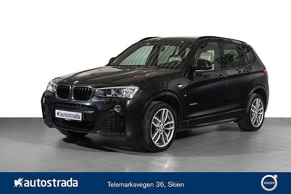 BMW X3 xDrive20d 163hk aut  2015, 92768 km, kr 379000,-