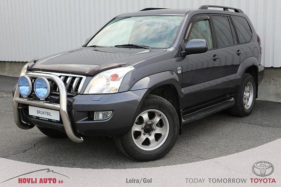 Toyota Land Cruiser GX 3,0 // 8-seter // Skinn // Ekstralys // Hengerfeste  2006, 250200 km, kr 199900,-