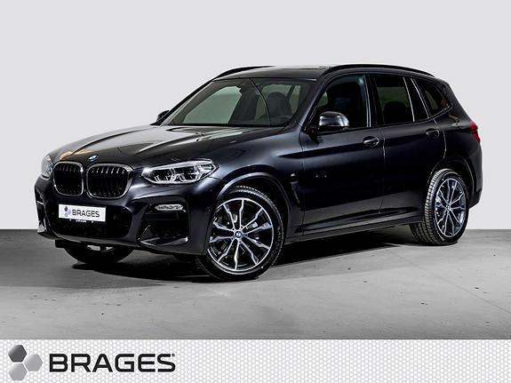 BMW X3 xDrive20d aut, NORSK MSPORT NAVI KROK HEAD-UP PANO+++  2018, 9900 km, kr 749000,-
