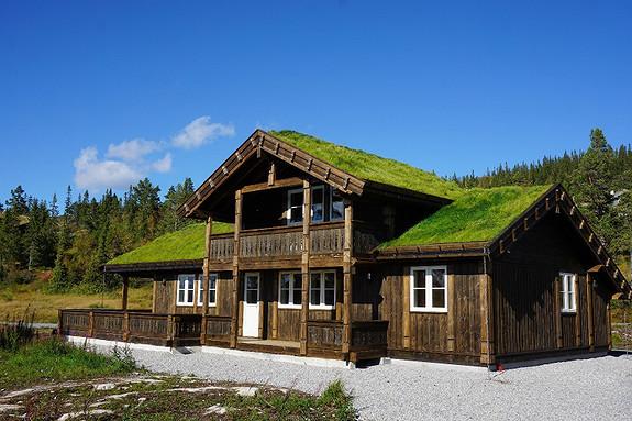 Storslått Buen hytte Vikeshagen, Voss Hyttegrend