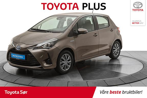 Toyota Yaris 1,5 Hybrid Active Go e-CVT aut Innbytte kr. 20.000,-  2017, 16708 km, kr 175000,-