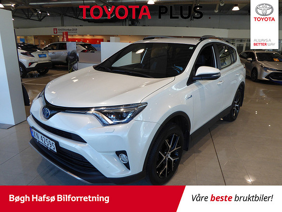 Toyota RAV4 Hybrid AWD Active Style m/DAB+ og Navi  2017, 55435 km, kr 399000,-
