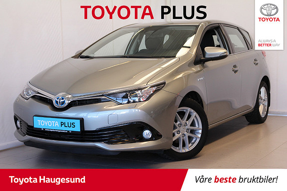 Toyota Auris 1,8 Hybrid E-CVT Active  2017, 38500 km, kr 229000,-