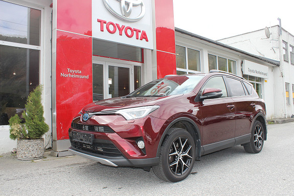 Toyota RAV4 2.5 Hybrid AWD Active Style, LAV KM, TECTYL, KROK  2016, 19050 km, kr 389900,-