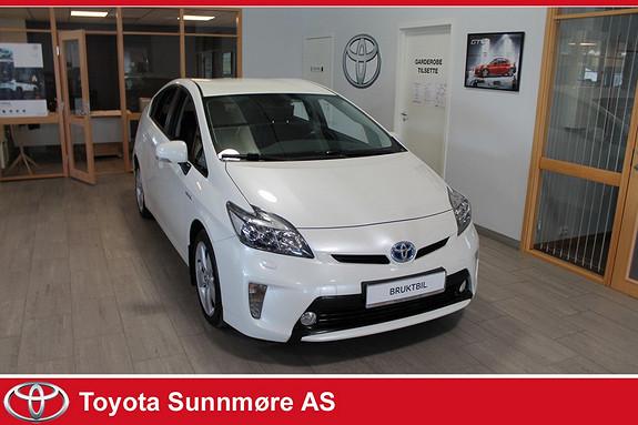 Toyota Prius 1,8 VVT-i Hybrid Advance **VELHOLDT**LANG GARANTI**RYGG  2013, 81000 km, kr 159000,-