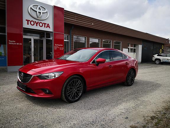 Mazda 6 2,2D 150hk Optimum  2013, 74531 km, kr 215000,-