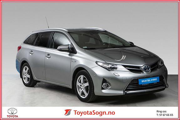 Toyota Auris Touring Sports 1,8 Hybrid Executive  2013, 66 020 km, kr 175 000,-