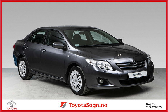 Toyota Corolla 1,4 D-4D Sol  2010, 81294 km, kr 97000,-