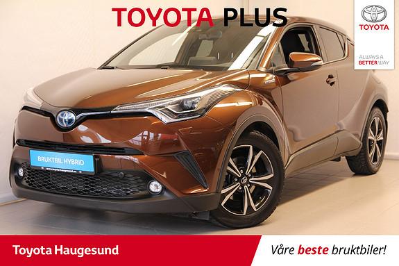 Toyota C-HR 1,8i Hybrid Supreme Tech  2018, 12500 km, kr 329000,-