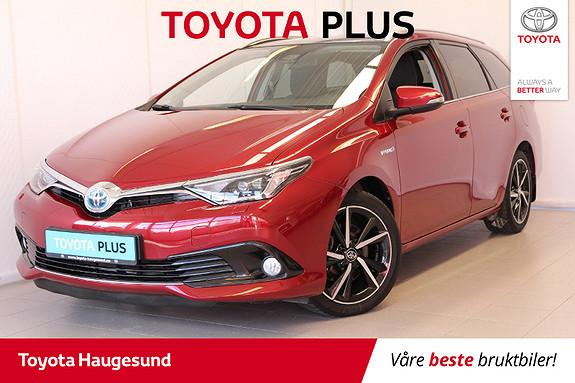 Toyota Auris 1,8 Hybrid E-CVT Style Edition  2017, 43240 km, kr 255000,-
