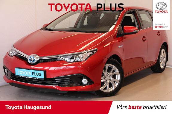 Toyota Auris 1,8 Hybrid E-CVT Active  2017, 44890 km, kr 225000,-