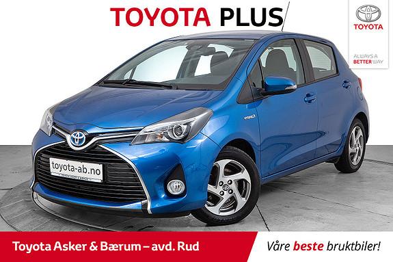 Toyota Yaris 1,5 Hybrid Active S e-CVT  2016, 24956 km, kr 175000,-