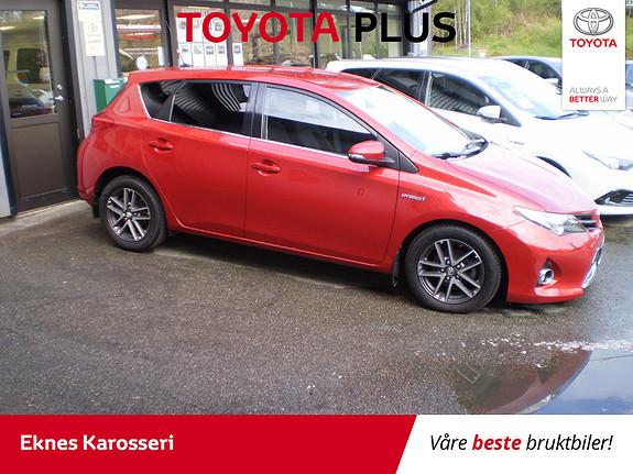 Toyota Auris 1,8 Hybrid E-CVT Active+  2015, 55000 km, kr 212000,-