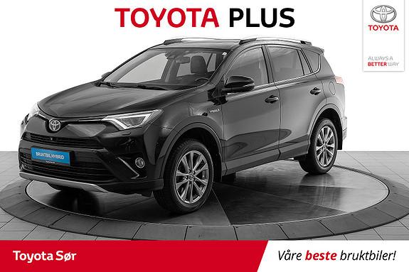 Toyota RAV4 Hybrid 2WD Executive skinnseter  2016, 58000 km, kr 345000,-
