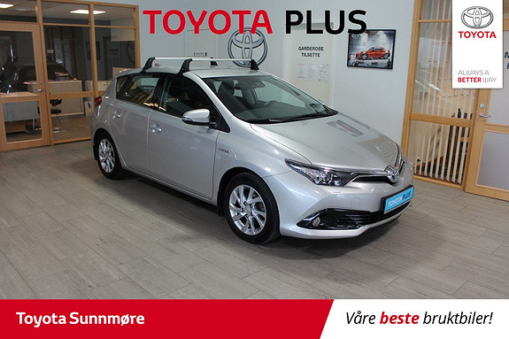 Toyota Auris 1,8 Hybrid E-CVT Active S **VELHOLDT**LAV KM**RYGGEKAME  2016, 26000 km, kr 219000,-