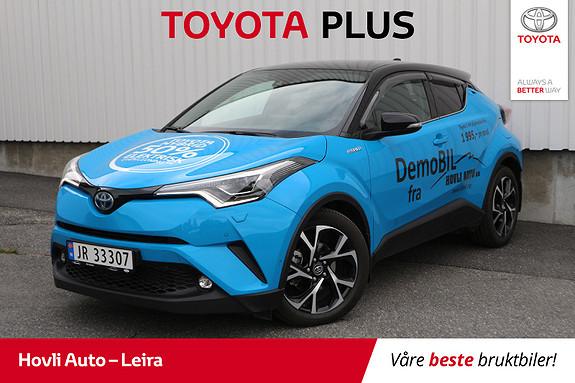 Toyota C-HR 1,8i Hybrid Lounge Tech // JBL // Lakkforseglet // Navi  2018, 13100 km, kr 329900,-