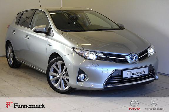 Toyota Auris 1,8 Hybrid E-CVT Executive kompl service- velholdt.  2013, 104000 km, kr 153000,-