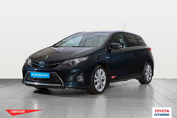 Toyota Auris 1,8 Hybrid E-CVT Executive  2014, 77623 km, kr 179000,-