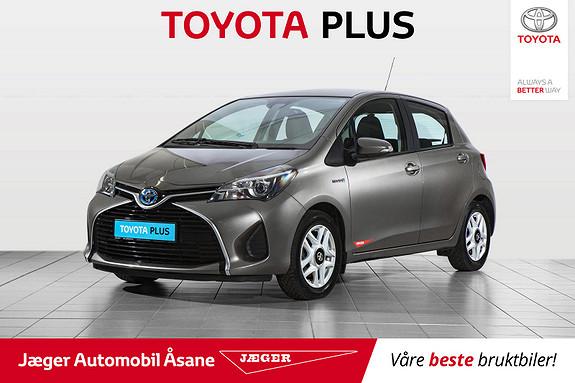 Toyota Yaris 1,5 Hybrid Active S e-CVT  2016, 65000 km, kr 169000,-