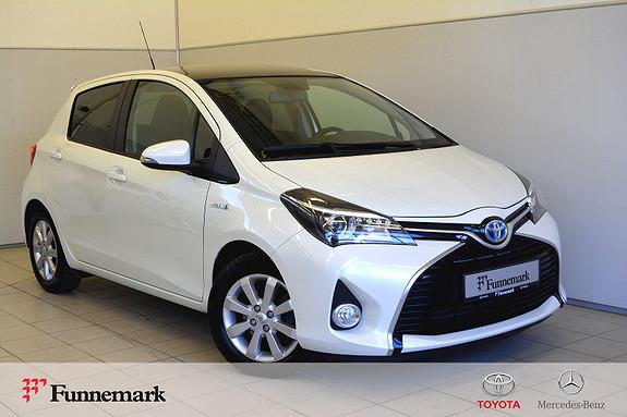 Toyota Yaris 1,5 Hybrid Style Toppmodell-facelift- lav km-1 eier.  2014, 40000 km, kr 159000,-