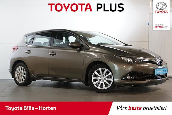 Toyota Auris 1,8 Hybrid E-CVT Active Go navi  2017, 51300 km, kr 219000,-