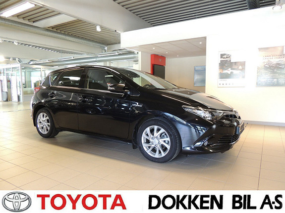 Toyota Auris 1,8 Hybrid E-CVT Active Go navi  2016, 27500 km, kr 219000,-