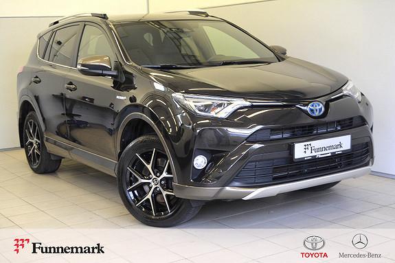 Toyota RAV4 Hybrid AWD Active Style Bi tone lakk-1 eier-kompl servi  2016, 63000 km, kr 369000,-