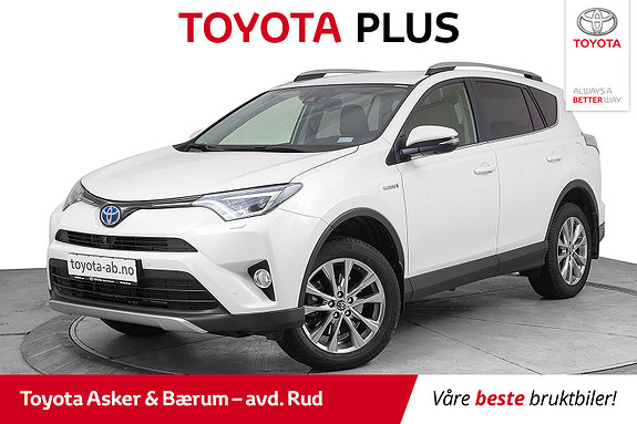Toyota RAV4 Hybrid 4WD Executive  2018, 11265 km, kr 459000,-