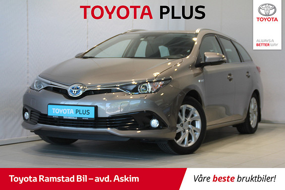 Toyota Auris Touring Sports 1,8 Hybrid Active S  2015, 69 800 km, kr 199 000,-