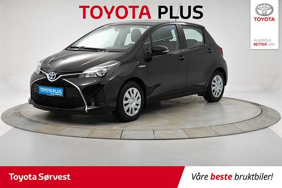 Toyota Yaris 1,5 Hybrid Active S e-CVT lav km!  2016, 15819 km, kr 179000,-