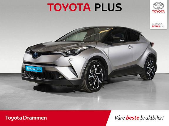 Toyota C-HR 1,8i Hybrid Dynamic Tech  2018, 46980 km, kr 299000,-