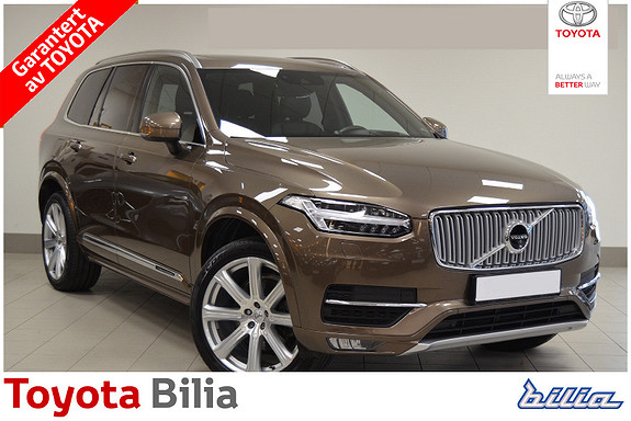 Volvo XC90 D5 235hk Inscription AWD  2018, 33 953 km, kr 799 900,-