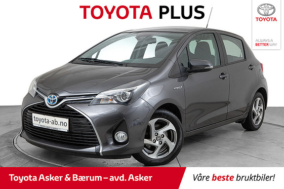 Toyota Yaris 1,5 Hybrid Active S e-CVT  2016, 57000 km, kr 159000,-