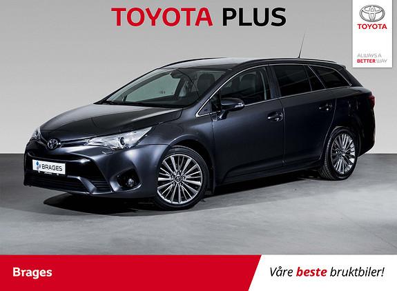 Toyota Avensis Touring Sports 1,8 Active M-drive 7S Navi, Skinn, R.kam  2016, 53100 km, kr 265000,-