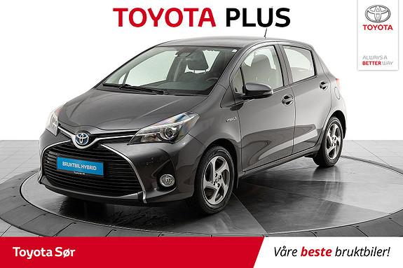 Toyota Yaris 1,5 Hybrid Active S e-CVT  2016, 39500 km, kr 169000,-
