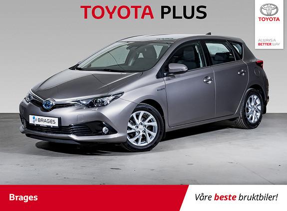 Toyota Auris 1,8 Hybrid E-CVT Active DAB+, Navi, BT, Ryggekamera  2016, 30100 km, kr 219000,-