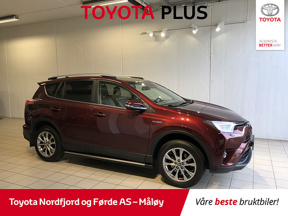 Toyota RAV4 Hybrid AWD Executive  2016, 24 248 km, kr 398 000,-