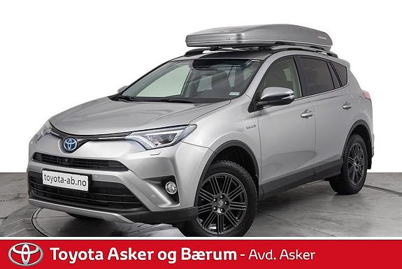 Toyota RAV4 Hybrid AWD Executive DEMOBIL M/ALT UTSTYR  2018, 14200 km, kr 469000,-