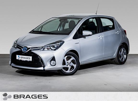Toyota Yaris 1,5 Hybrid Active S e-CVT Navi, Ryggekamera, Cruise++  2016, 54300 km, kr 169000,-