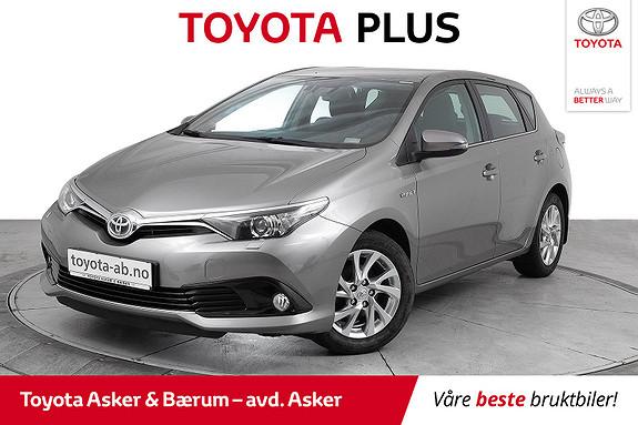 Toyota Auris 1,8 Hybrid E-CVT Active  2016, 36100 km, kr 214000,-