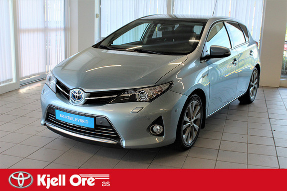 Toyota Auris 1,8 Hybrid Executive HSD m/ glasstak, park sensor ++  2012, 105343 km, kr 169000,-
