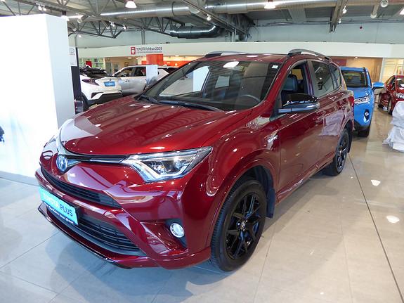 Toyota RAV4 Hybrid AWD 71n Edition Color m/DAB+ og Navi  2018, 13306 km, kr 459000,-