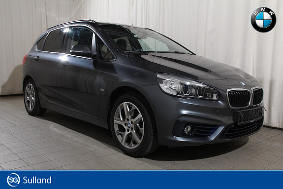 BMW 2-serie 218i Aut R.KAMERA-AD.CRUISE-HUD-NAVIPLUSS-COMF.ACC ++  2016, 32600 km, kr 268900,-