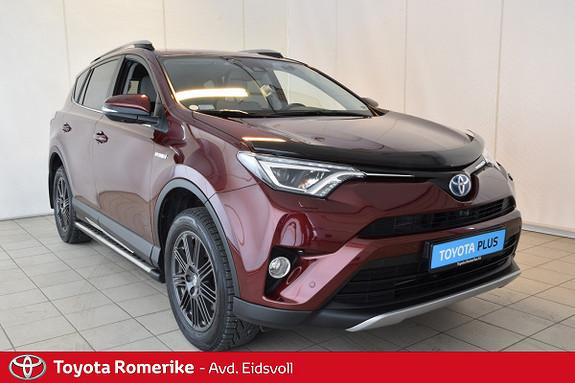 Toyota RAV4 Hybrid 4WD Executive Skinn, Kamera Defa motor/coupe, Jbl  2016, 38642 km, kr 409000,-